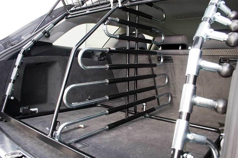 Toyota Rav4 06-09 Frontbåge/Ljusbåge Modell Stor Trio med färdiga extraljusfästen - till din bil !