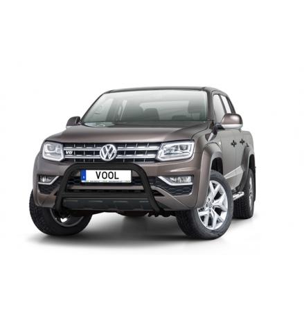 VW Amarok 2017- EU Frontbåge (Svart)