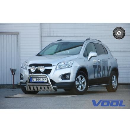 EU Frontbåge med hasplåt - Chevrolet Trax 2013-2016