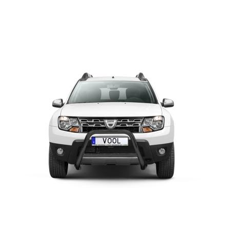 EU Frontbåge (Svart) - Dacia Duster 2010-2017