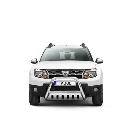 EU Frontbåge med hasplåt - Dacia Duster 2010-2017