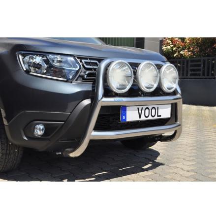 STOR TRIO Frontbåge - Dacia Duster 2018-