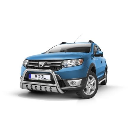 EU Frontbåge med hasplåt - Dacia Sandero 2013-